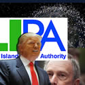 Donald Trump Mike Bllomberg LIPA Space Junk